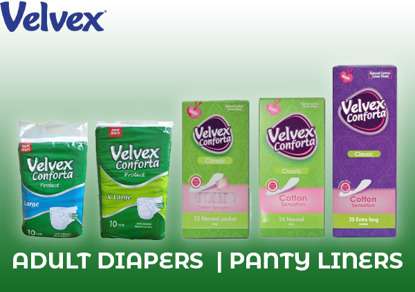 Adult Diapers  | Panty Liners