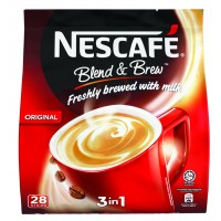 NESCAFE BLEND AND BREW POUCH 28 STICKS x19g
