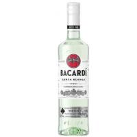 BACARDI CARTA  BLANCA CLEAR RUM  750Ml