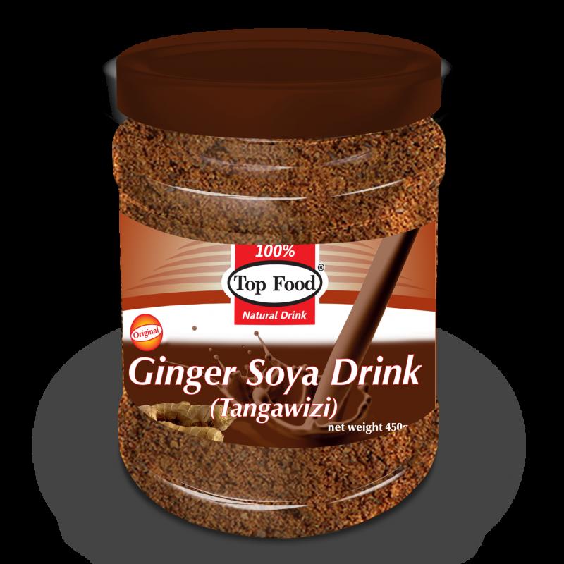 TOP FOOD SOYA GINGER DRINK 450G