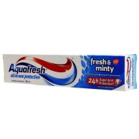 AQUAFRESH FRESH AND MINTY TOOTHPASTE 100ML