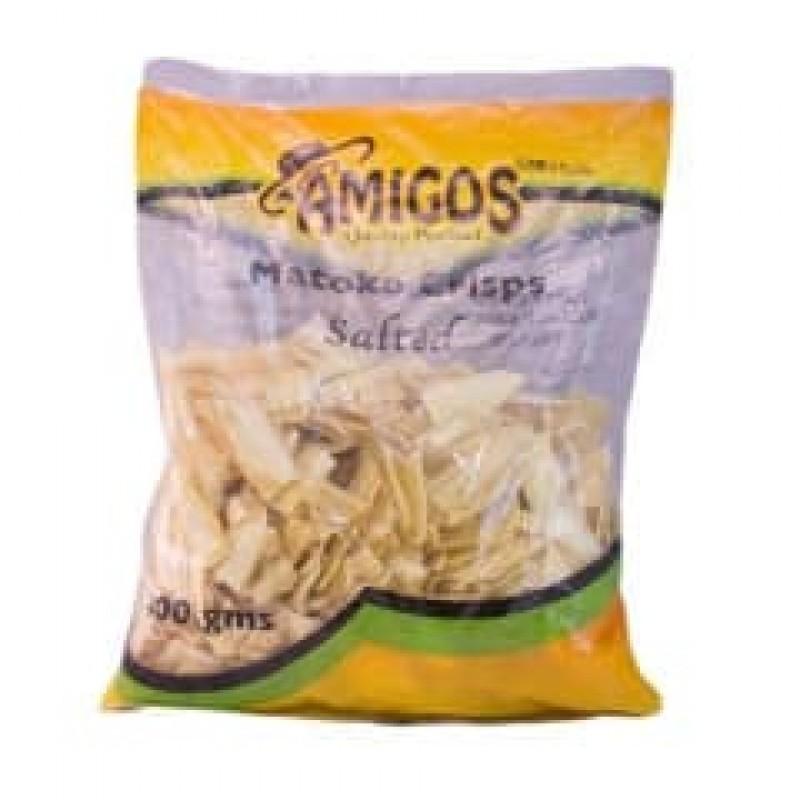 AMIGOS MATOKE CRISPS 400G