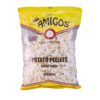 AMIGOS TWISTS SALTED PELLETS 100G