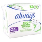 ALWAYS COTTON PROTECT PADS