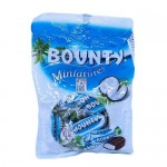 BOUNTY MINIATURES CHOCOLATE BAR 150G