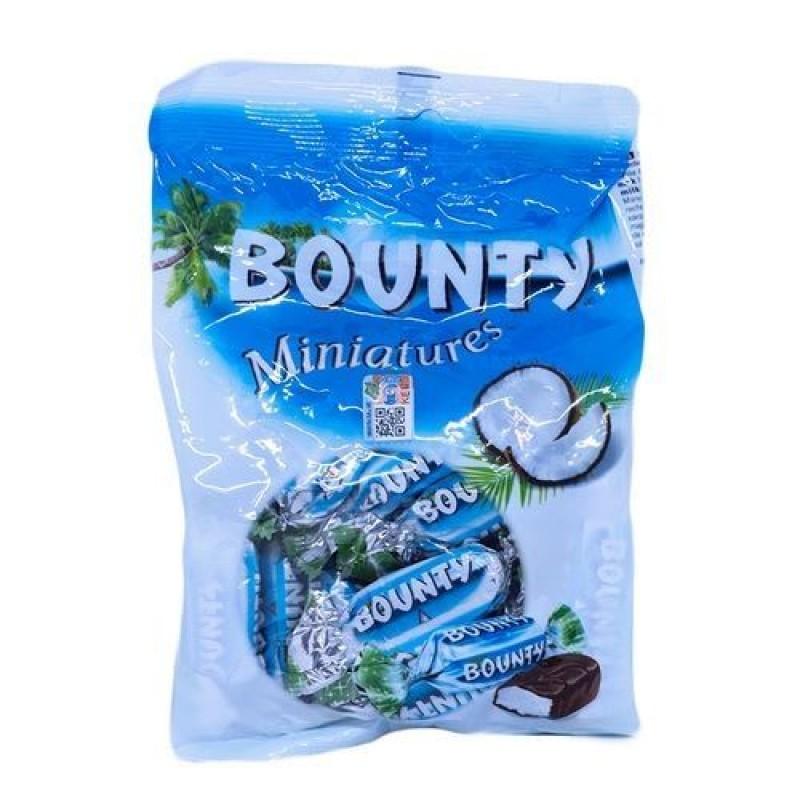 BOUNTY MINIATURES CHOCOLATE BAR 150G