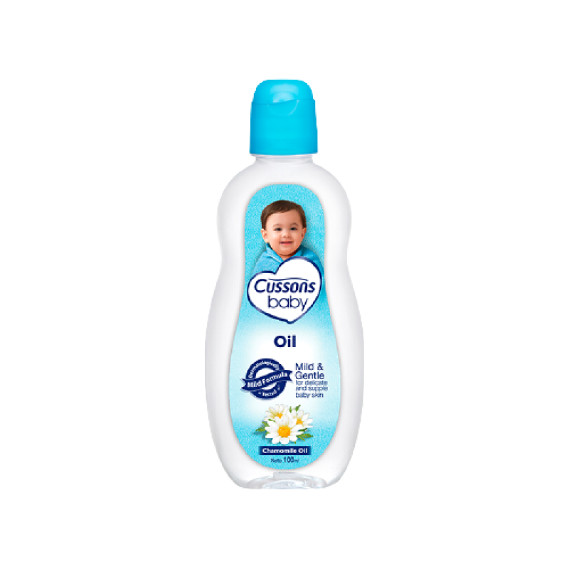 CUSSONS BABY  MILD AND GENTLE CHAMOMILE OIL 100ML
