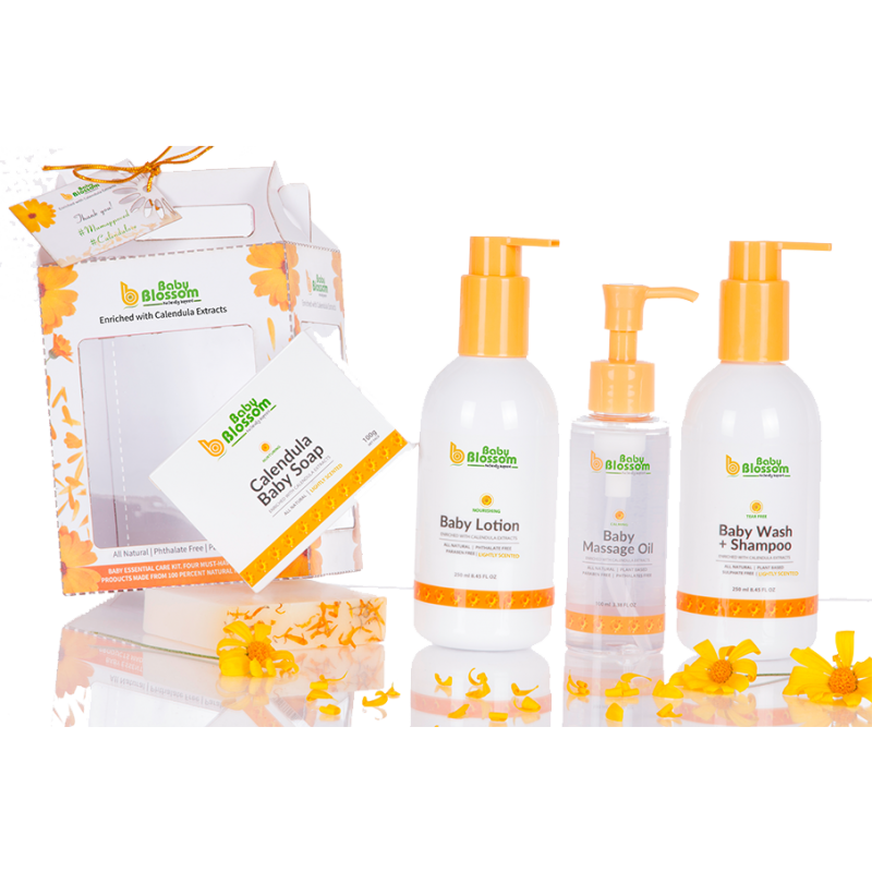 BABY BLOSSOM 4 IN 1 GIFT PACK