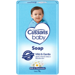 CUSSONS BABY SOAP MILD AND GENTLE 100G