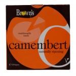 BROWNS CAMEMBERT CHEESE 200G