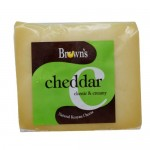 BROWNS CHEDDAR  PORTION CHEESE  225G