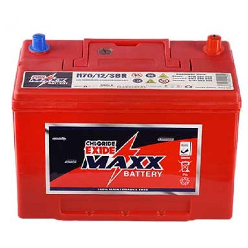 N70MFR CHLORIDE EXIDE MAXX