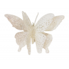 CHRISTMAS GLITTER BUTTERFLY WITH CLIP