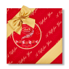 LINDT LINDOR MILK CHRISTMAS GIFT WRAPPED BOX 287G