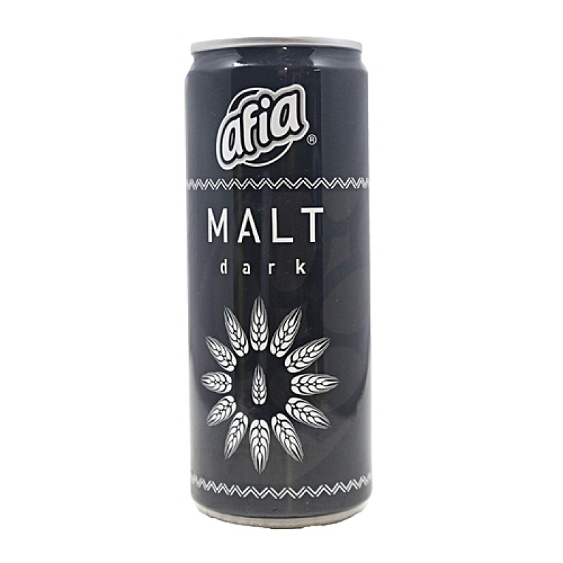 AFIA MALT CAN DARK 330ML