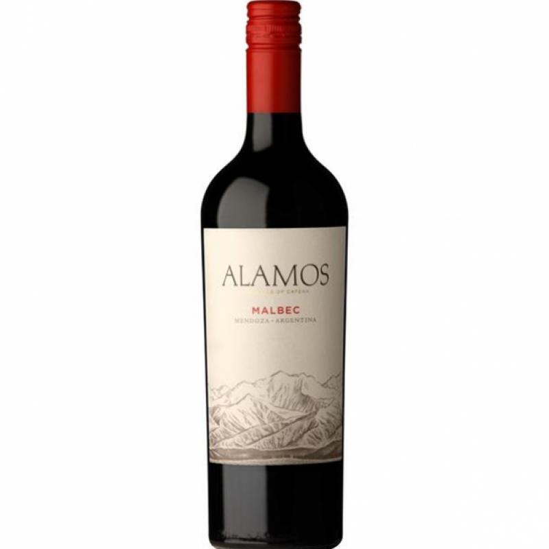 ALAMOS MALBEC 75CL BOTTLE