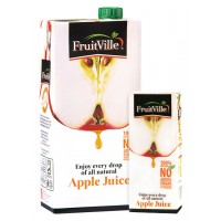 FRUITVILLE APPLE JUICE 1 LITRE