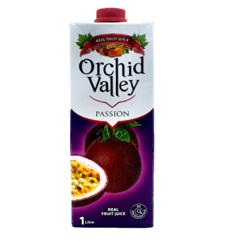 ORCHID VALLEY PASSION JUICE 1 LITRE