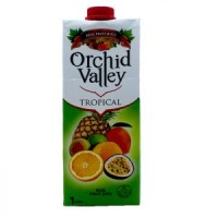 ORCHID VALLEY TROPICAL JUICE 1 LITRE