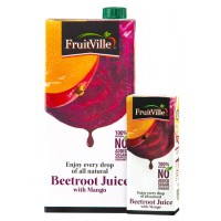 FRUITVILLE BEETROOT JUICE WITH MANGO 1 LITRE