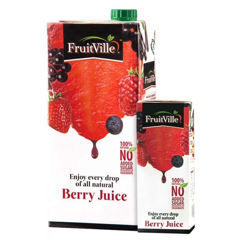 FRUITVILLE BERRY JUICE 1 LITRE