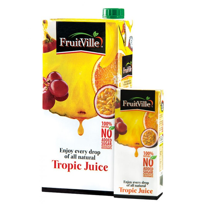 FRUITVILLE TROPIC JUICE 1 LITRE