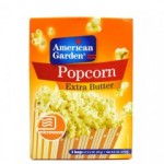 AMERICAN GARDEN MICROWAVE EXTRA BUTTER POPCORN 297G