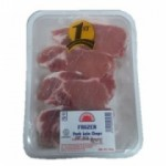 FARMERS CHOICE FROZEN PORK LOIN CHOPS 500G
