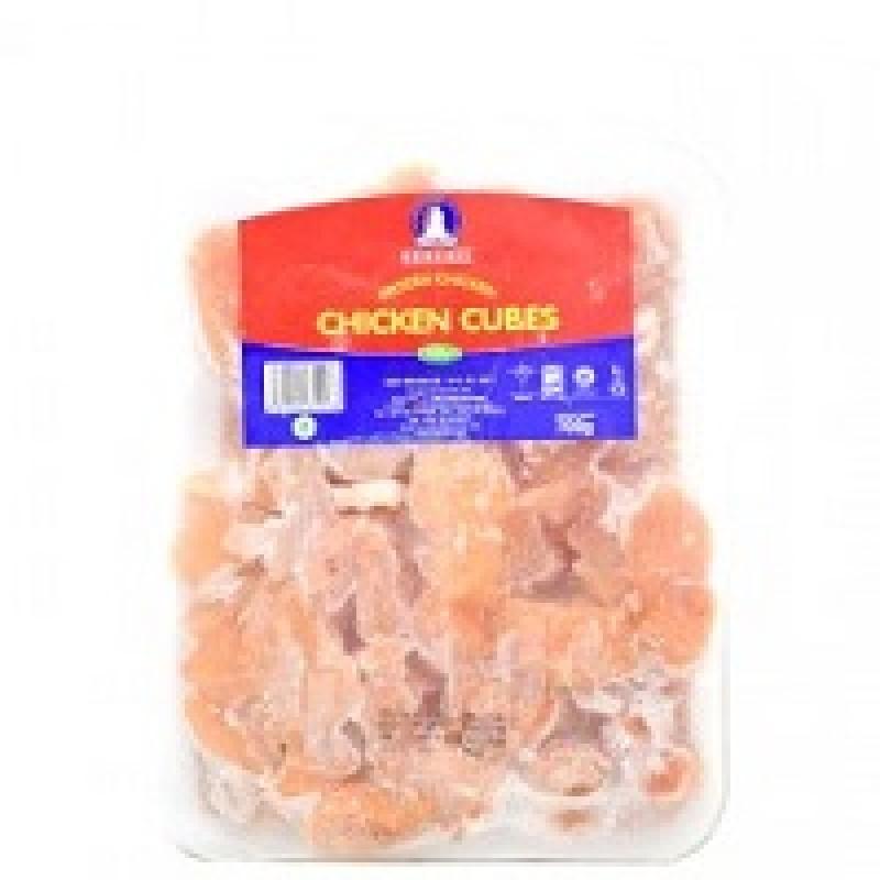 Frozen Chicken Cubes 700g