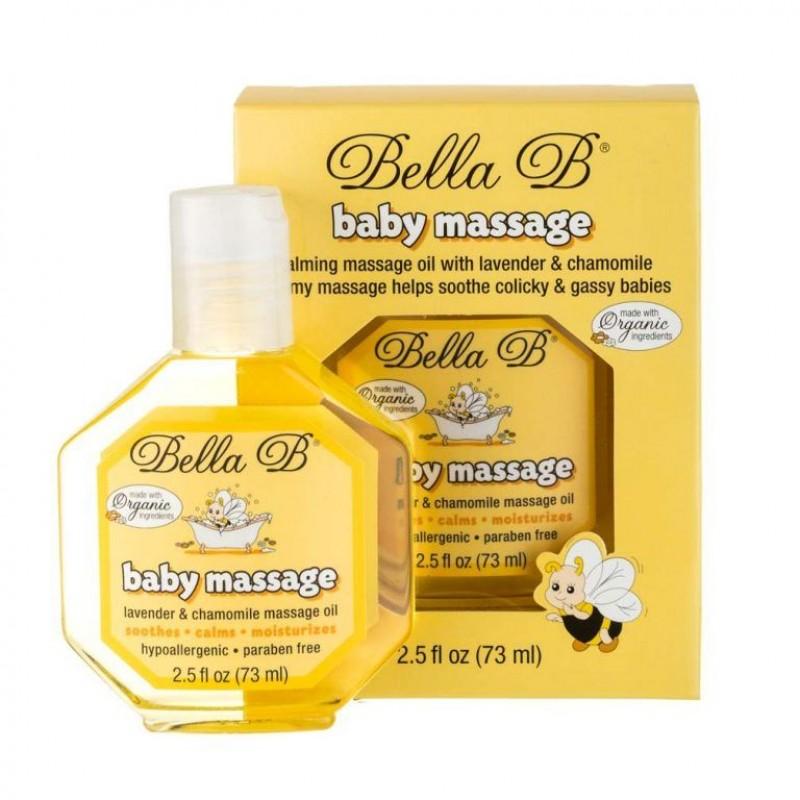 BELLA B BABY MASSAGE OIL 73ML