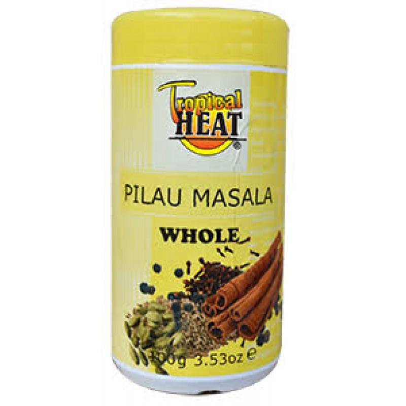TROPICAL HEAT PILAU MASALA WHOLE 100G
