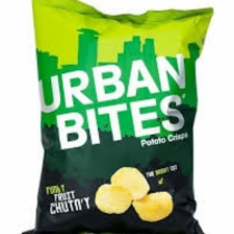 URBAN BITES FUNKY FRUIT CHUTNY 120G CRISPS