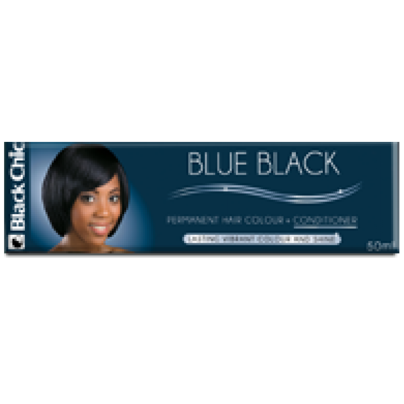 BLACK CHIC BLUE BLACK HAIR COLOR CREME 50ML