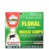 FLOWER MOSSI CHIPS FLORAL 30S