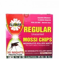 FLOWER MOSSI CHIPS REGULAR UNSCENTED 30S