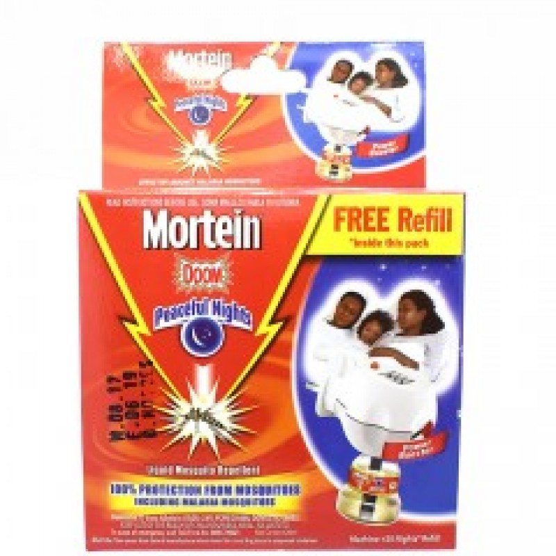 MORTEIN DOOM LIQUID MOSQUITO REPELLENT 45ML COMPLETE  KIT