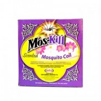 MOSKILL FLOWER SCENTED MOSQUITO COILS 10S