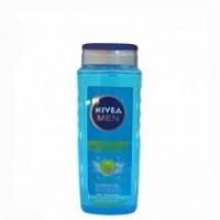 NIVEA 500ML POWER REFRESH SHOWER GEL