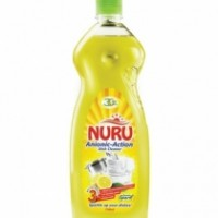 NURU DISH WASHING LIQUID SOAP LIME WAVE 750ml