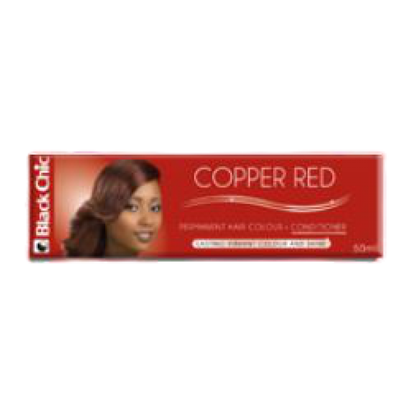 BLACK CHIC RED COPPER HAIR COLOR CREME 50ML