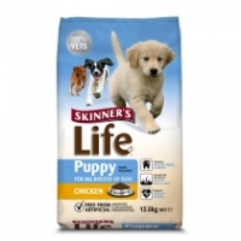 SKINNERS LIFE PUPPY FOOD CHICKEN FLAVOR 12.5KG