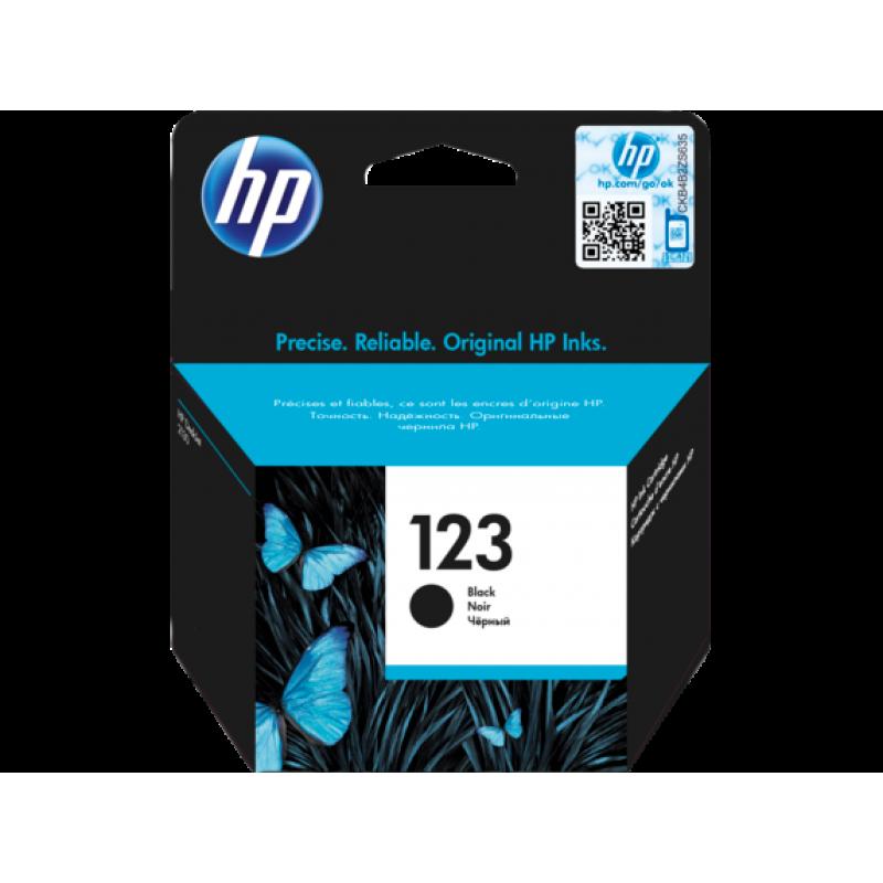 HP CARTRIDGE NO. 123 BLACK