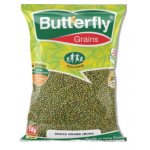 BUTTERFLY GRAINS GREEN GRAMS POLISHED 1 KG