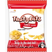 TASTY BITS TOMATO FLAVORED POTATO CRISPS 30G