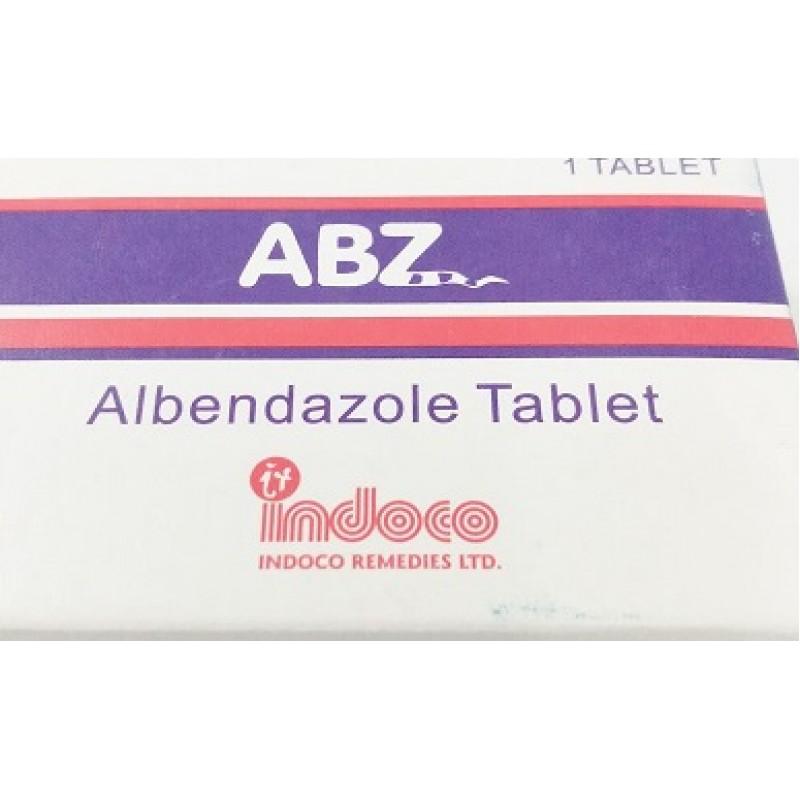 ABZ (albendazole) Tabs 1`s
