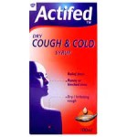 Actifed Cough & Cold Dry 100ml